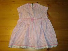 altes-Kinderkleid-oder-Puppenkleid-Gr-86-40-Sammeln-u-Seltenes