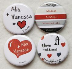 ... Badges Mariages..... - Badges et Bijoux