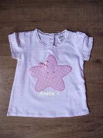 Mirad que camisetas mas graciosas para los bebés... Sewing For Kids, Baby Sewing, Baby Dress Patterns, Sewing Patterns, Shirt Tutorial, Kids Frocks Design, Baby Embroidery, Sewing Appliques, Sewing Accessories
