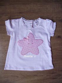 Mirad que camisetas mas graciosas para los bebés... Bird Applique, Machine Applique, Applique Patterns, Applique Designs, Sewing Patterns, Sewing For Kids, Baby Sewing, Kids Frocks Design, Baby Sheets