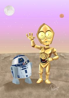 Star Wars: R2-D2 and C-3PO