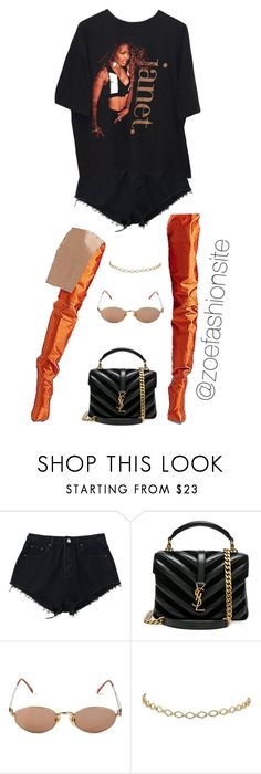 """Untitled #506"" by zoefashionsite on Polyvore featuring Yves Saint Laurent and Jean-Paul Gaultier"