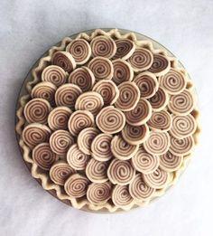 Cinnamon-Swirl Apple Pie –