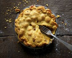 Clean Eats Peach Pie