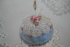 Pincushion with CD base