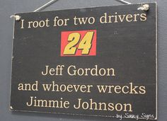 Kyle Larson wrecks Jimmie Johnson Rare Driver Sign Racing Bar Man Cave Tickets