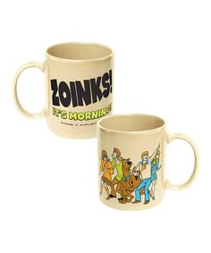Take a look at this Scooby Doo 'Zoinks! It's Morning' Mug by ICUP Inc. on #zulily today!