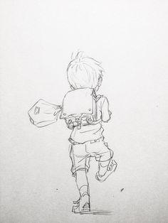 100 点 取 っ た 帰 り 道 character design - children's book pencil drawings, drawings Character Sketches, Character Design References, Character Drawing, Cartoon Drawings, Drawing Sketches, Art Drawings, Pencil Drawings, Manga Drawing, Art And Illustration