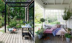 Udeliv: Se 3 hyggekroge til den danske sommer her - ALT.dk Outdoor Furniture, Outdoor Decor, Patio, Garden, Home Decor, Garten, Decoration Home, Room Decor, Lawn And Garden