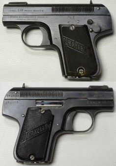 Bayard 1908 pistol (Belgium) Bayard was then, and remains today one of the most compact pistols chambered for 7,65 mm Browning, but has a strong and significant impact to throw up when shooting mainly due to the low weight and short handles with low recoil pad location.