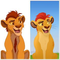 Lion Guard redraw: Teenage Kion by spicygaypizzarolls on DeviantArt Lion King 4, Lion King Series, The Lion King 1994, Lion King Fan Art, Lion King Images, Lion King Pictures, Le Roi Lion Disney, Disney Lion King, Arte Disney
