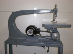 128 best scroll saw images on pinterest woodworking plans delta 24scroll saw on flared leg stand 1940s keyboard keysfo