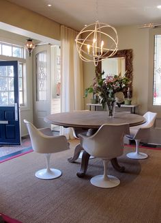 dining space by karen cole