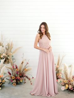 Create an elegant look by pairing our Lola skirt with our Emery Lace top! Blush Bridesmaid Dresses, Wedding Dresses, Floral Style, Sequins, Velvet, Navy, Elegant, Create, Spring