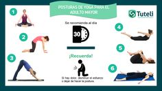 POSTURAS DE YOGA PARA EL ADULTO MAYOR