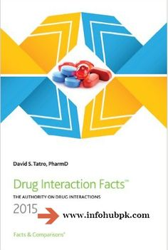 Drug Interaction Facts by David S.Tatro Text book pdf free download
