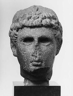 Tête d'une statue d'un prince ptolémaïque - Ny Carlsberg Glyptotek