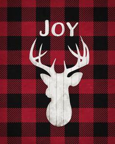 8x10 Joy Buffalo Check Print - Simple as That