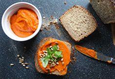 Pasta z dyni do chleba, przepis idealny, nie tylko na kanapkę.