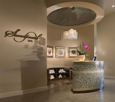 Reception area at the Africology Spa | Africology Spa at the ...