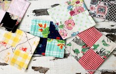 I have been on a bit of a patchwork kick lately. I love being able to take scraps that have been sitting around and find another purpose for them. I am such a vintage fabric lover, and I hate to … Continued