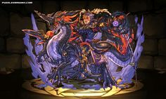 Divine Flying General, Lu Bu stats, skills, evolution, location | Puzzle & Dragons Database