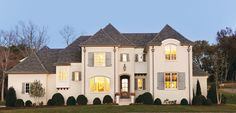 French Country in style, the gorgeous Southern Living Showcase Home was built by Castle Homes in the Dorset Park neighborhood of southern Davidson County.