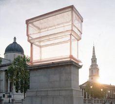 Rachel Whiteread, Monument, 2001 [Trafalgar Square]