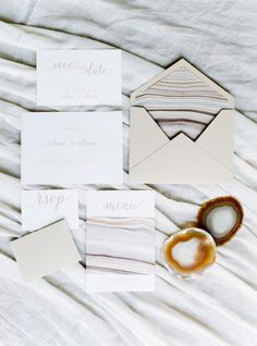 Geode: http://www.stylemepretty.com/little-black-book-blog/2015/05/18/organic-seaside-wedding-inspiration/ | Photography: Brancoprata - http://www.brancoprata.com/