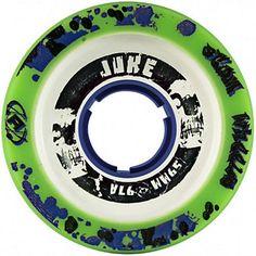 Atom Juke 2.0 Blue Roller Skate Wheels - 4 Pack 2014,