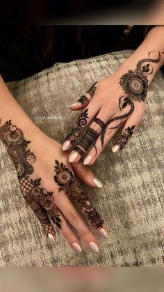 Kashee's Mehndi Designs, Pretty Henna Designs, Modern Henna Designs, Latest Henna Designs, Finger Henna Designs, Arabic Henna Designs, Back Hand Mehndi Designs, Stylish Mehndi Designs, Mehndi Designs For Beginners