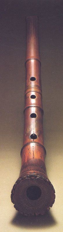 Japanese end-blown flute, Shakuhachi 尺八  I want to learn how to play this flute.