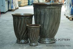 Beautiful antique tornado cup planters - Basic products of our company. Do you still love these pots? 😉 . . . . . . . #hoangpottery #vietnampottery #vietnam #pottery #pots #planters #flowerpots #professional #glaze #ceramic #glazedceramic #handmade #design #decoration #antique #antiquestyle #antiquedesign #style #trend #tornado #tornadocup #cup #basicplanter #basicpot #interiordesign #exteriordesign #madebyhand #madeinvietnam #beautiful #beauty