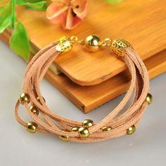 PandaHall Jewelry—Fashion Suede Cord Bracelets ... | PandaHall Beads Jewelry Blog