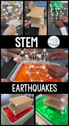 Can you build a structure that will withstand earthquake-type shaking? So much fun!