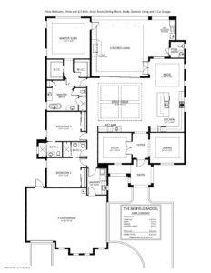 Ready To Move In Belfield Floor Plan At Naples Reserve Stock Development Naplesbonitamarco Com Floor Plans Belfield Naples