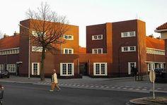 building in Hilversum, Netherlands, Willem Dudok
