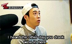 I love this gif. P.O running his mouth and zico just going ssshhuuuuut uuuuup