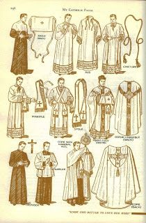 Good description and explanation of priestly vestments.