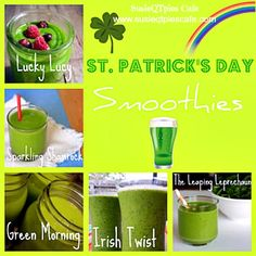 Healthy St. Patrick's Day Smoothie Recipes