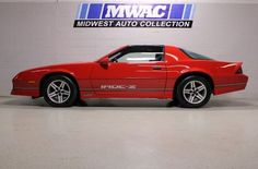 Chevrolet : Camaro Z28 IROC-Z, this was my dream car!
