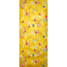 Wallpaper - Pip Studio, Chinese Rose Yellow. I have the perfect wall for this sensational wallpaper.
