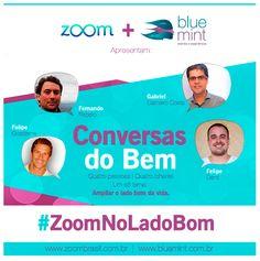 """Participação do gsa 2012 Felipe Denz no evento """"Conversas do Bem"""", no Nós Coworking, em Porto Alegre."""