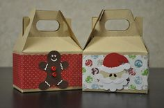 Christmas gable box / gift box