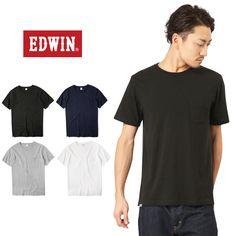 EDWIN エドウィン ET5167 ラフィーソリッド クルーネックTシャツ #ミリタリーセレクトショップWIP #MILITARY #T-SHIRT #Tシャツ #半袖 #shortsleev