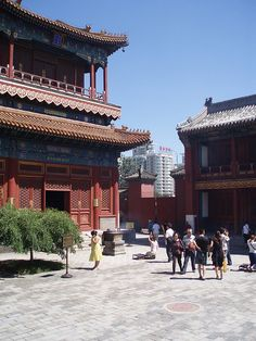 Yonghe Temple - Beijing China | Flickr - Photo Sharing!