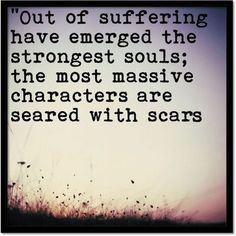 Inspirational quote by Kahlil Gibran. It reminds me that with every obstacle I become stronger. Hardship may make me feel small sometimes, but it does not weaken me.