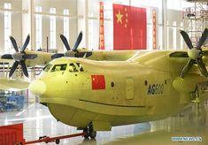 KUNLONG --  Chinese amphibious aircraft AG600 aka TA600  >>>   world's largest
