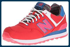 New Balance Womens Classic Traditionnels Red Textile Trainers 37.5 EU - Sneakers für frauen (*Partner-Link)