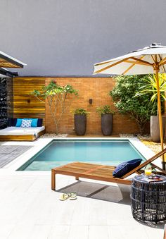 Take a look at pool design ideas for small backyard from our archives that will get you in the summer mood.